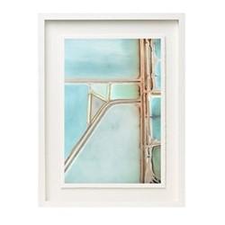 Salts I by Tommy Clarke Framed fine art photographic print, H57 x W43 x D3.3cm, white frame