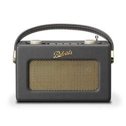 Revival Uno DAB/DAB+/FM digital radio with alarm, H14 x W21 x D9cm, charcoal grey