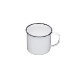 Living Nostalgia Mug, 55cl, White Enamel