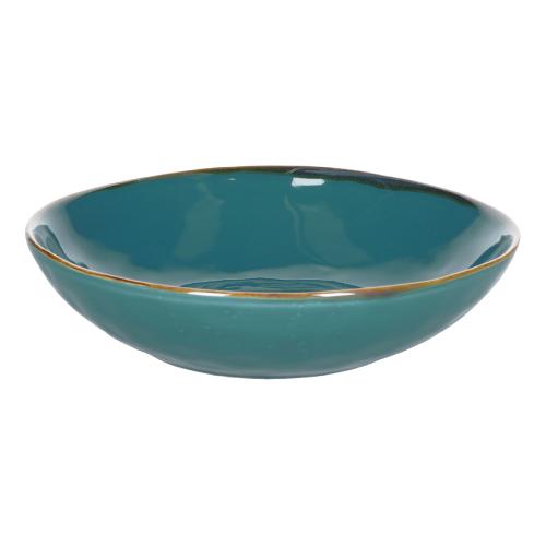 Concerto Set of 4 soup plates, Dia21cm, Teal Blue