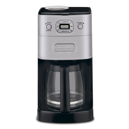 Grind and Brew Auto - DGB625BCU Coffee machine, brushed stainless steel with glass jug