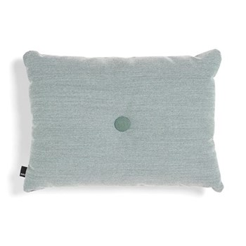 Steelcut Trio 1 Dot Cushion, H45 x L60cm, mint