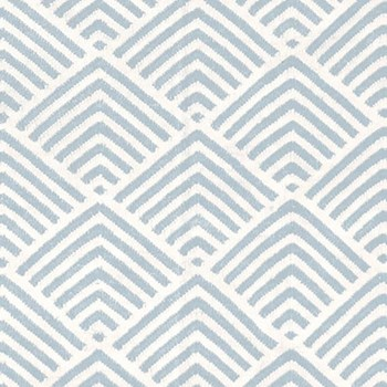 Bunny Williams Recycled polyester P.E.T. indoor/outdoor rug, W244 x L305cm, cleo blue