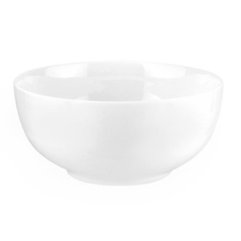 Serendipity Set of 4 couple bowl, 15cm, white