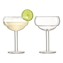 Mixologist Pair of cocktail coupe glasses, 32cl