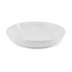 Stoneware Pasta bowl, 22cm, White