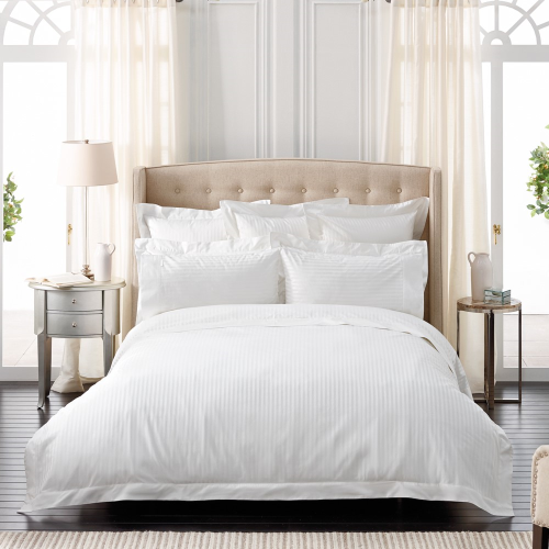 Millennia 1200TC Pair of housewife pillowcases, 50 x 75cm, snow