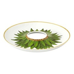Amazonia Olive dish, 19.5 x 2.5cm, green