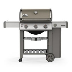 Genesis II E-310 GBS Gas barbeque, H120 x W145 x D74cm, smoke grey