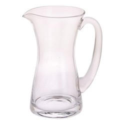 Delilah Jug, H18cm - 0.57 litre, clear