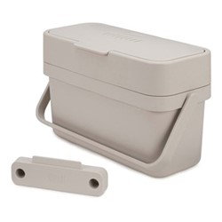 Compo 4 Food waste caddy, H18 x W30 x D13cm - 4 Litre, stone