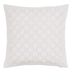 Skye Square cushion, 40cm, white