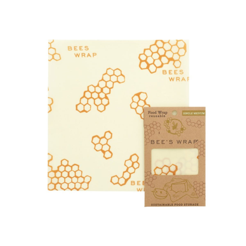 Bee's Wrap Print Medium food wrap, 25 x 28cm