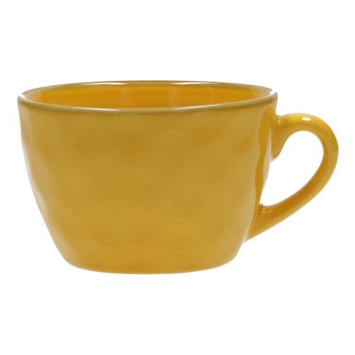 Concerto Set of 4 breakfast cups, 420ml, Yellow