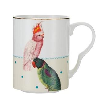Parrot Set of 6 mugs, H10.5 x W11 x D8cm