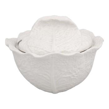 Cabbage Tureen, 3 litre - 33 x 18cm, beige