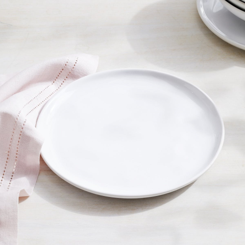 Portobello Side plate, Dia21cm, White
