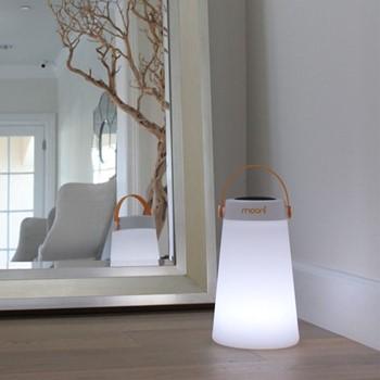TakeMe Speaker lantern, L18.3 x W18.3 x H30.5cm, orange/white