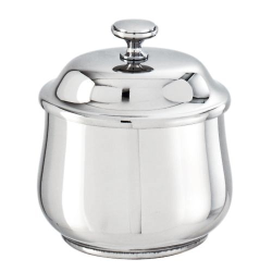 Elite Sugar bowl with cover, 200g, stainless steel