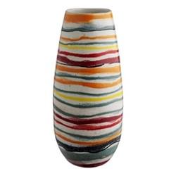 Wave Vase, H30 x Dia13cm, Multi