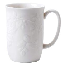 Wild Strawberry White Mug