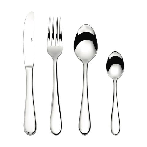 Glacier 24 piece cutlery set, Mirror Finish Polished