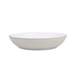 Natural Canvas Pasta bowl, 24 x 6cm