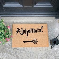 Alohamora Doormat , L60 x W40 x H1.5cm