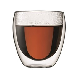 Pavina Pair of double wall glasses, 25cl, clear