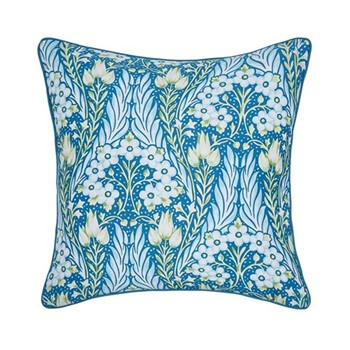 Alyssum Cushion, L40 x W40 x H10cm, blue