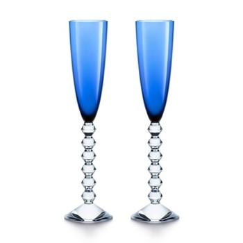 Pair of flutissimo flutes H29cm - 17cl