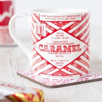 Tunnocks Caramel Wafer Wrapper Mug, 8.5 x 9cm