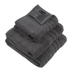 Egyptian Cotton Bath towel, W70 x L125cm, charcoal