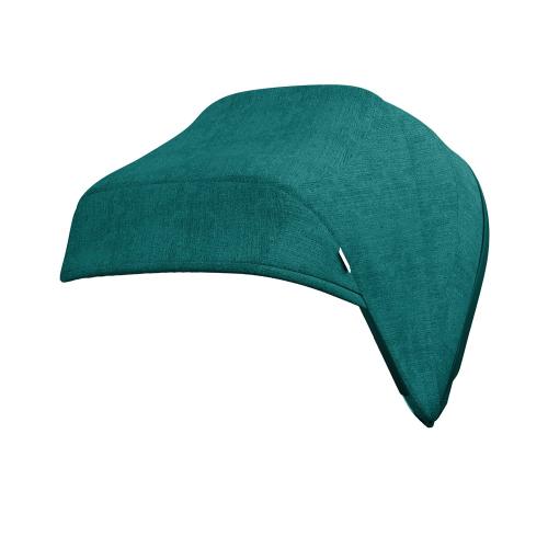 J-carbon Hood & harness pads, Caribbean blue, Blue