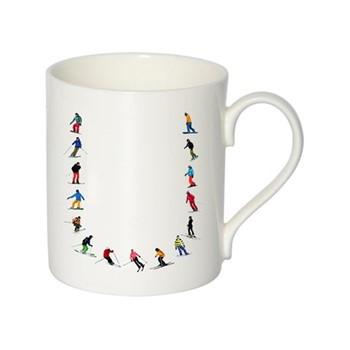 Alphabet - U Mug, H9.5 x W10.5 x D8.5cm - 35cl, multi