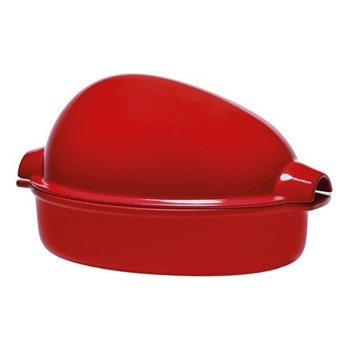 Chicken roaster, 34 x 24 x 19cm -  2.5 Litre, burgundy