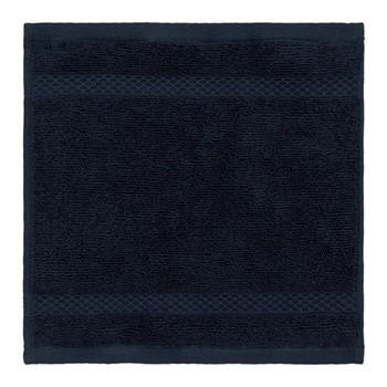 Egyptian Cotton Set of 3 face cloths, W30 x L30cm, navy