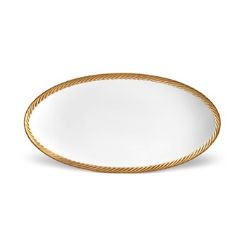 Small oval platter 36 x 18cm