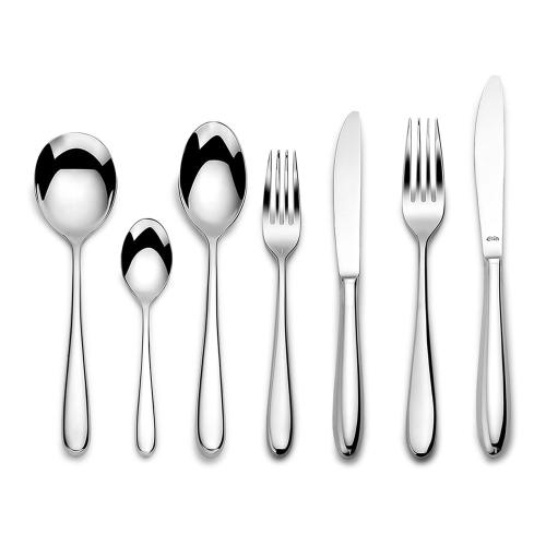 Siena 60 piece cutlery set, Mirror Finish Polished