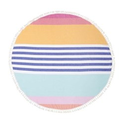 Catalina Round fouta towel, D150cm