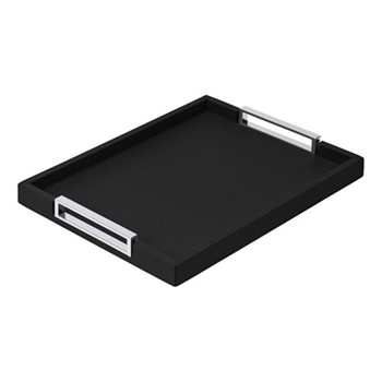Victor Rectangular tray, 34.5 x 44.5cm, black