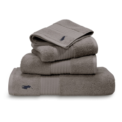 Player Guest towel, 42 x 75cm, pebble