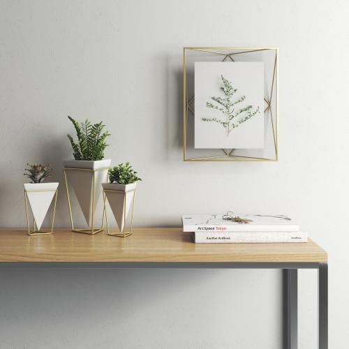 Prisma Photo frame, 8 x 10'', Matte Brass