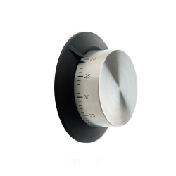 Magnetic kitchen timer, Stainless Steel