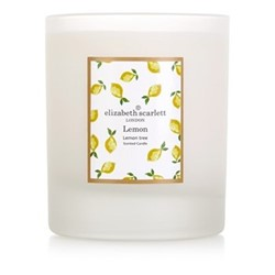 Lemons Candle, H9 x L7.5cm, frosted glass