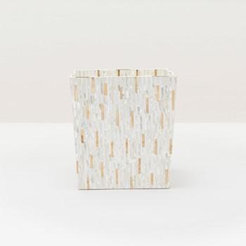 Cortona Wastebasket, H28 x W25.5cm, white