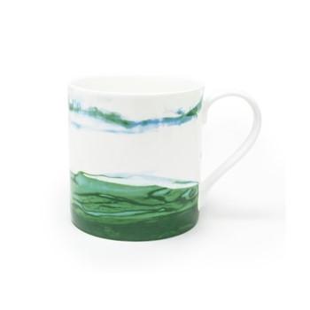 Jenny Green Mug, D8.5 x H9cm, green tone