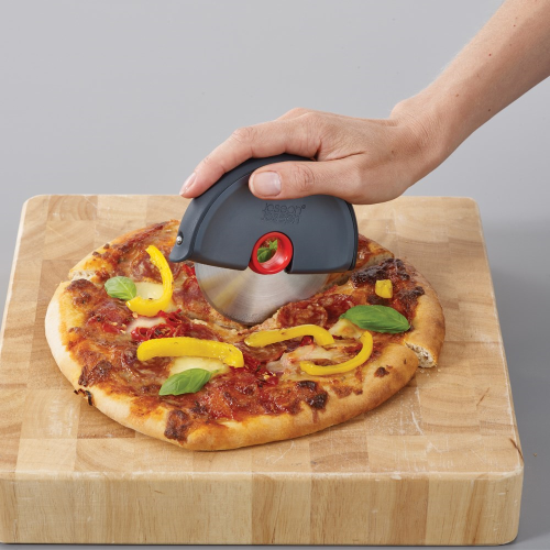 Pizza disc Easy-clean pizza wheel, Grey/Red
