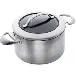 CTX Dutch oven with lid, 24 x 20cm, Ceramic Titanium