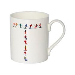 Alphabet - T Mug, H9.5 x W10.5 x D8.5cm - 35cl, multi
